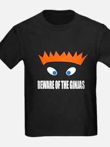 Beware of the Ginjas - White T