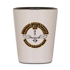 Navy - Rate - AX Shot Glass