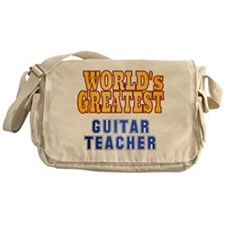 World's Greatest Guitar Teacher Messenger Bag