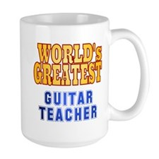 World's Greatest Guitar Teacher Mug