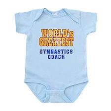 World's Greatest Gymnastics Coach Infant Bodysuit