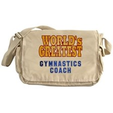 World's Greatest Gymnastics Coach Messenger Bag