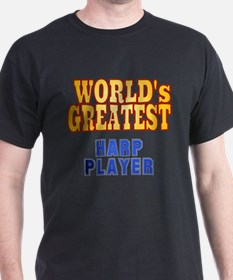 World's Greatest Harp Player T-Shirt
