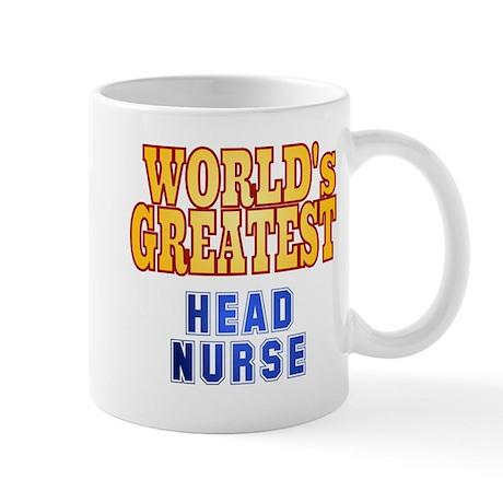 World's Greatest Head Nurse Mug