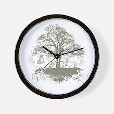 Tree of Life 2011 Wall Clock