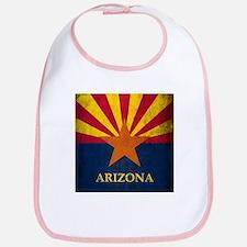 Grunge Arizona Flag Bib