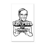 Ron Paul Is My Homeboy Rectangle Car Magnet