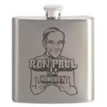 Ron Paul Is My Homeboy Flask