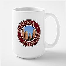 Sedona - Cathedral Rock Large Mug