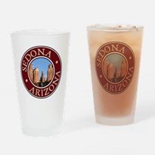 Sedona - Cathedral Rock Drinking Glass