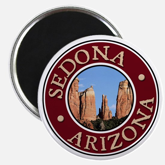 Sedona - Cathedral Rock Magnet