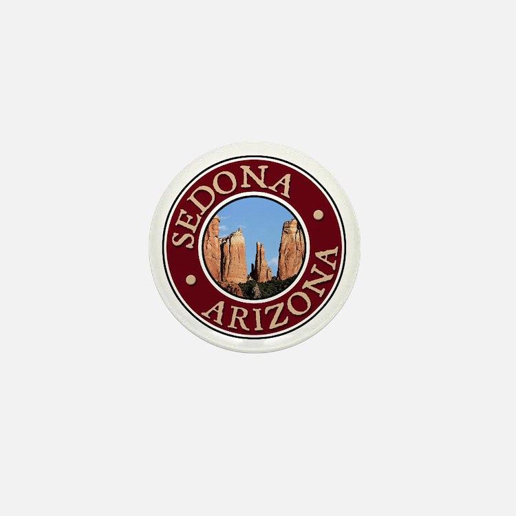 Sedona - Cathedral Rock Mini Button