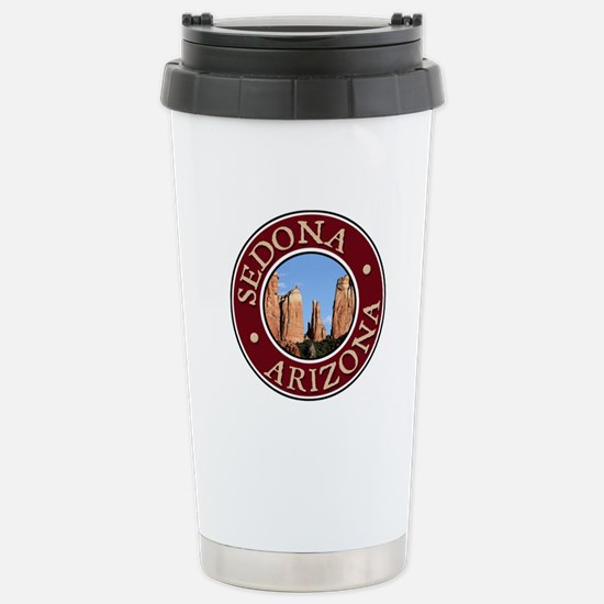 Sedona - Cathedral Rock Stainless Steel Travel Mug