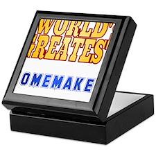 World's Greatest Homemaker Keepsake Box