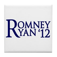 Romney Ryan Tile Coaster