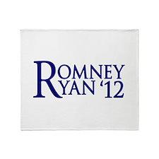 Romney Ryan Throw Blanket