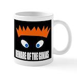 Ginjas Black Background Mugs