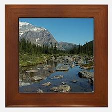 Consolation Lake Framed Tile