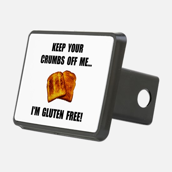 Crumbs Off Me Gluten Free Hitch Cover