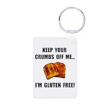 Crumbs Off Me Gluten Free Keychains