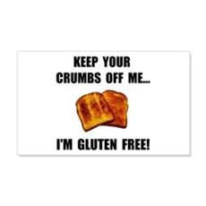 Crumbs Off Me Gluten Free Wall Decal