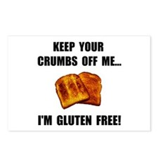 Crumbs Off Me Gluten Free Postcards (Package of 8)