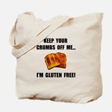 Crumbs Off Me Gluten Free Tote Bag