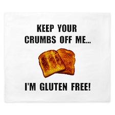 Crumbs Off Me Gluten Free King Duvet