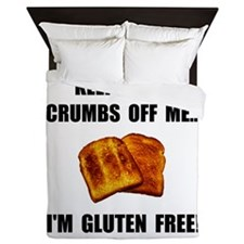 Crumbs Off Me Gluten Free Queen Duvet