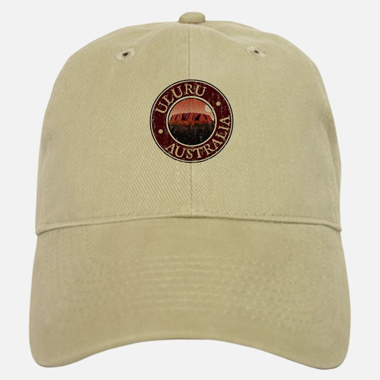 Uluru - Distressed Baseball Baseball Cap