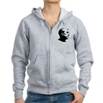 Ron Paul Profile Women's Zip Hoodie