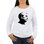 Ron Paul Profile Women's Long Sleeve T-Shirt