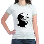 Ron Paul Profile Jr. Ringer T-Shirt