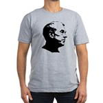 Ron Paul Profile Men's Fitted T-Shirt (dark)