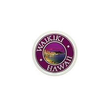 Waikiki Mini Button