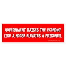 Government Noose Bumper Sticker