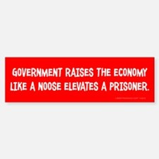 Government Noose Sticker (Bumper)