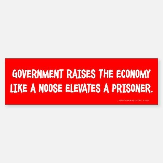 Government Noose Sticker (Bumper)