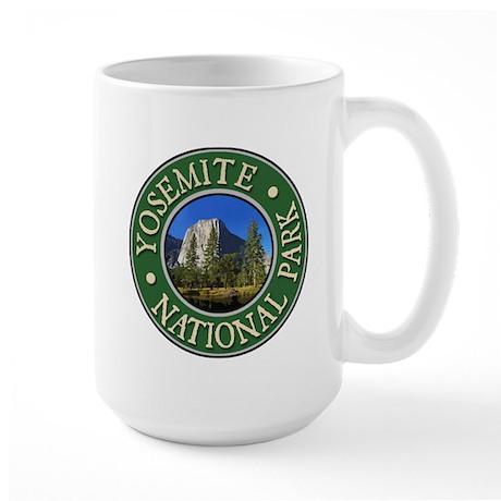 Yosemite - Design 1 Large Mug