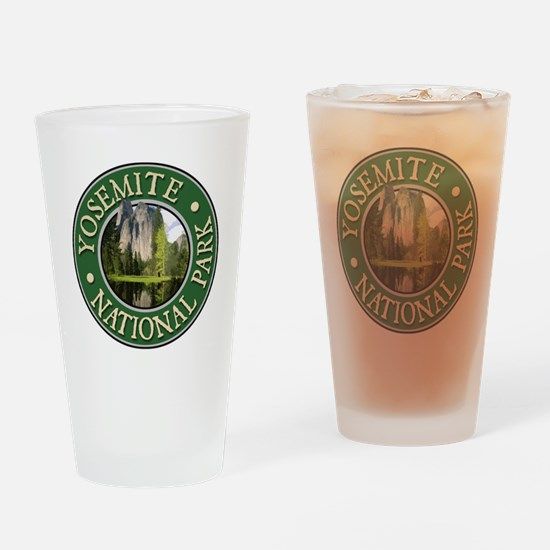 Yosemite - Design 2 Drinking Glass