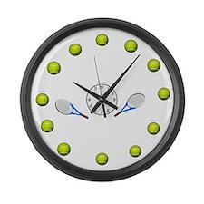 Juggling Balls Large Wall Clock