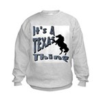 Texas Kids Sweatshirt