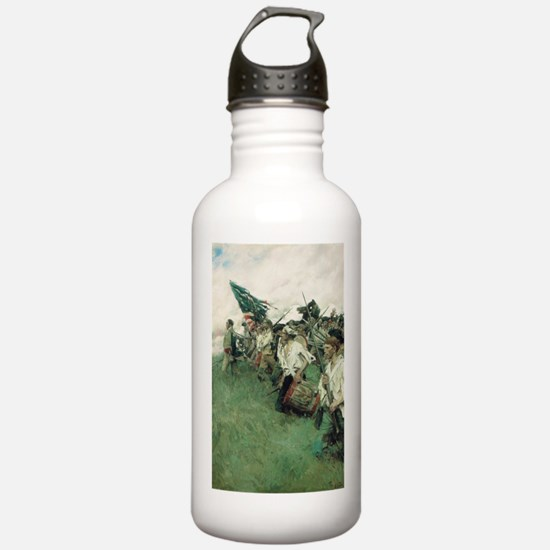 USA - The Nation Maker Sports Water Bottle