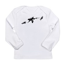 Iron Suit Attack!! Long Sleeve Infant T-Shirt
