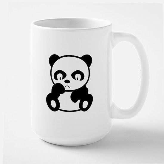 Sad Panda Large Mug