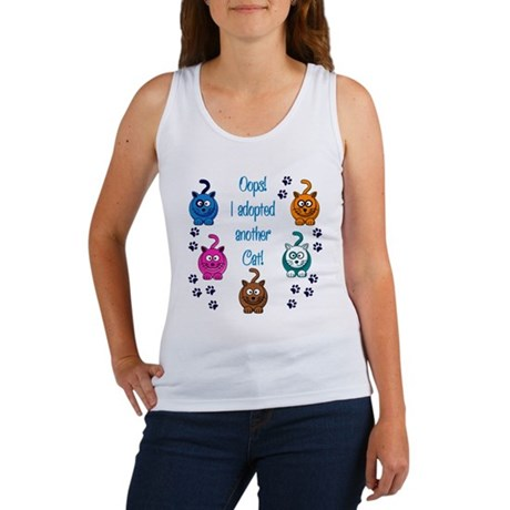 Oops! I Adopted Another Cat! Women's Tank Top