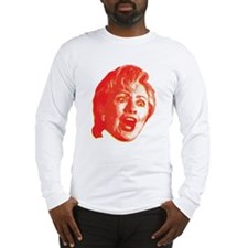 Hillary Rage Long Sleeve T-Shirt