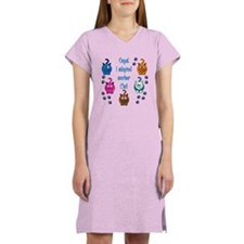 Oops! I Adopted Another Cat! Women's Nightshirt