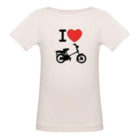 I Heart Mopeds Organic Baby T-Shirt