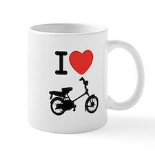 I Heart Mopeds Mug